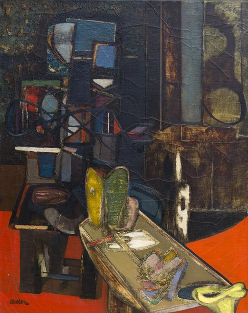 , 'Interior,' 1944-1945, Ben Uri Gallery and Museum