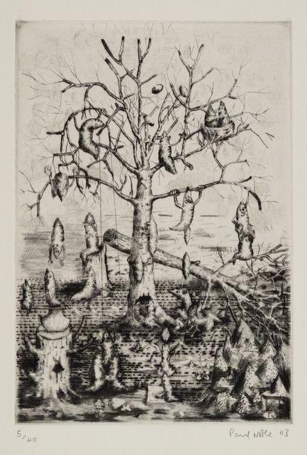 Paul Noble, 'Untitled Nobson Newton', 2003, Print, Etching, Roseberys