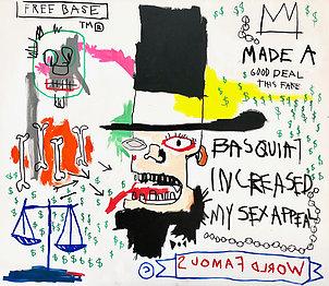 , 'Fake Basquiat,' 2018, One Arts Club