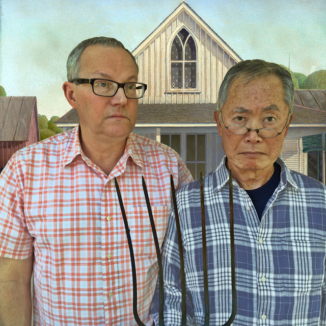 John S. Rabe, 'The New American Gothic', 2018, Photography, Archival pigment print on watercolor paper, Bermudez Projects
