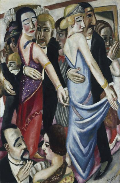 , 'Dance in Baden-Baden (Tanz in Baden-Baden),' 1923, Los Angeles County Museum of Art