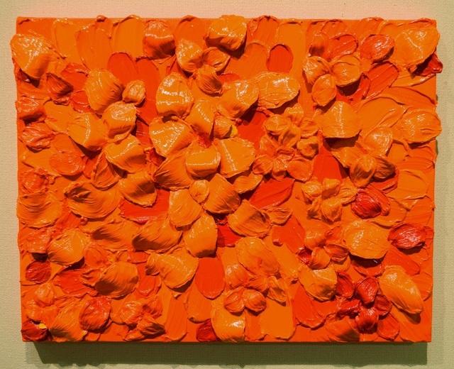 , 'INFINITY Orange No1,' 2017, Gallery Seizan