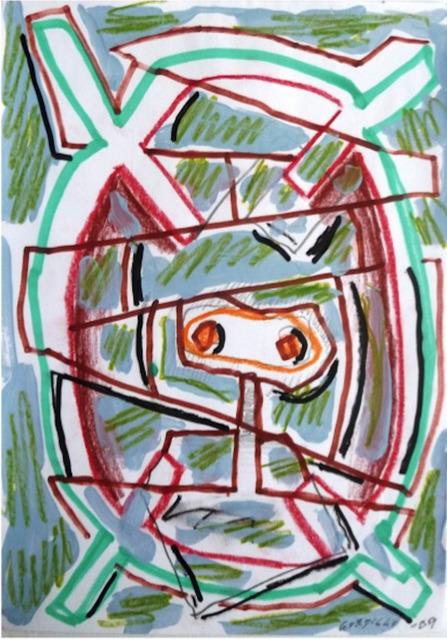 Luis Gordillo, 'S/T', 2009, Galeria Maior