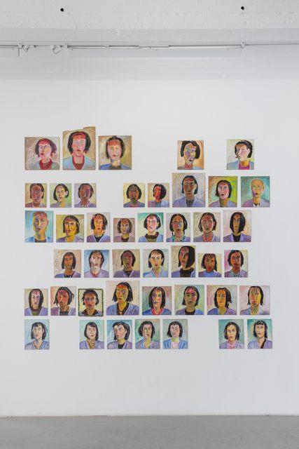 , 'Självporträtt / Self portraits,' 1985-1986, Andréhn-Schiptjenko