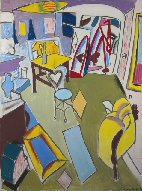 , 'The Living Room, Brookline,' 1990, Childs Gallery