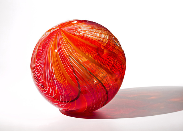 Nancy Callan, 'Red Hot Orb', 2016, Duane Reed Gallery