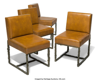 Custom Set of Four Side Chairs