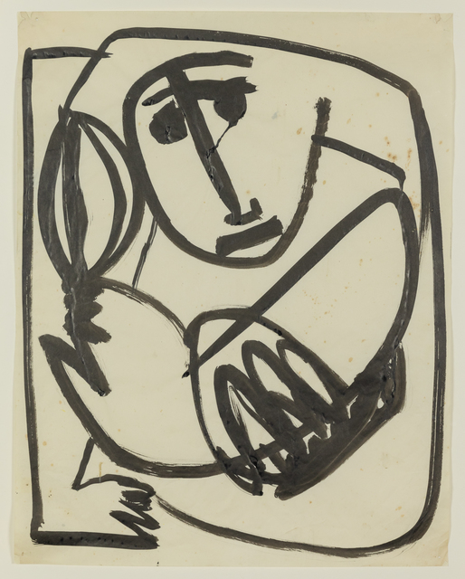 Anthony Caro, 'Baby with a Ball', 1954, Annely Juda Fine Art