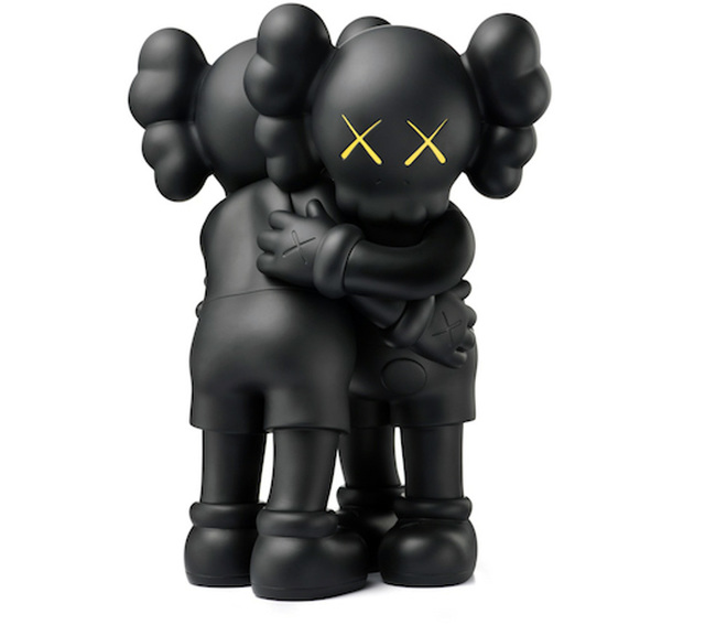 KAWS, 'KAWS Black Together Companion (KAWS Together black)', 2018, Lot 180
