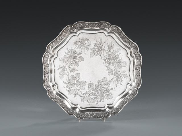 , 'A Chinese Export Silver Octagonal Salver,' Canton-circa 1880, Koopman Rare Art