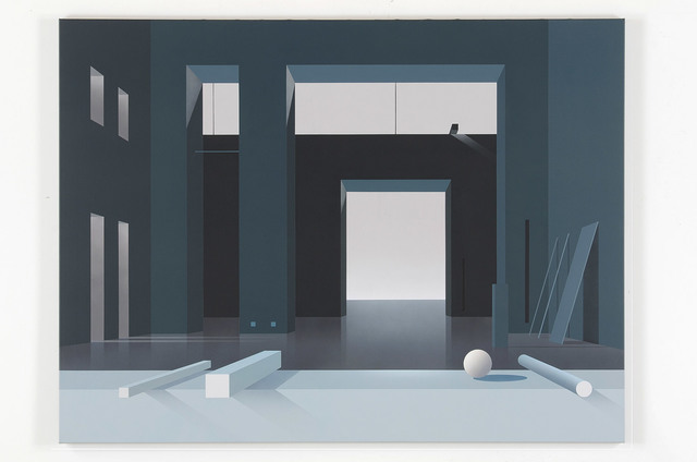 , 'Raum 769 Nacht,' 2011, Galerie Hans Mayer