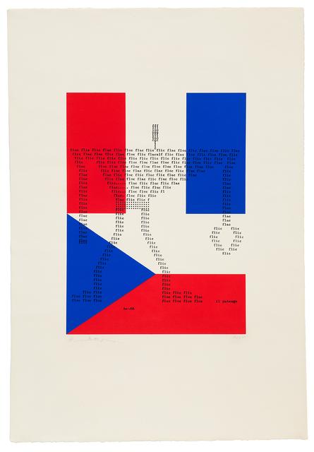 , 'Flic flac floc,' 1965, Richard Saltoun
