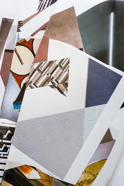 "Olaf Metzel, '""Interieur 3""', 2016, Sculpture, Aluminium, stainless steel, digital print, Wentrup"
