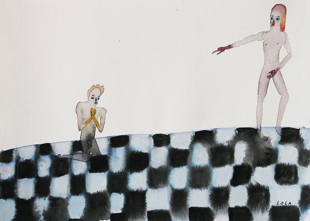 Lola Rose Thompson, 'A Man Being Tragic And Cunning', Tappan