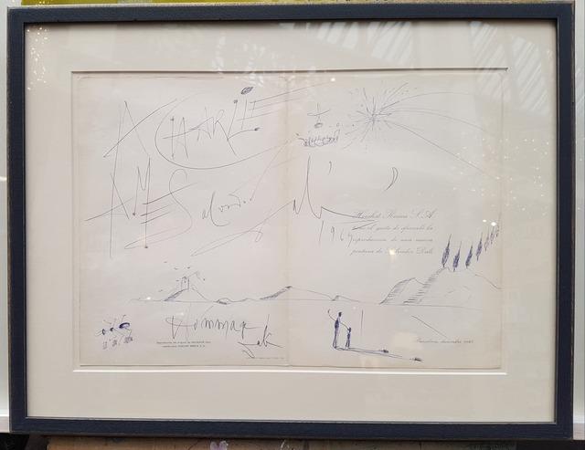 Salvador Dalí | Original Ink Drawing (1965) | Available for Sale | Artsy