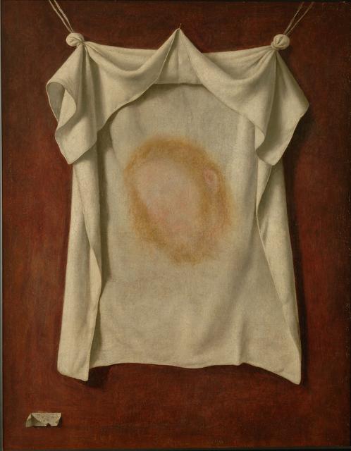 , 'Das Schweißtuch der Heiligen Veronika,' 1658, Gemäldegalerie Alte Meister