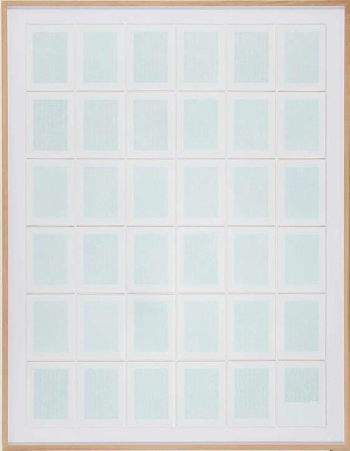 , 'Universal Declaration of Human Rights and an Image of Beauty Converted into Binary Code (C version),' 2014, Cristina Guerra Contemporary Art
