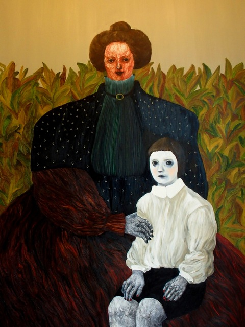 ", 'From the series ""Batonebi"",' 2019, Vanda Art Gallery"