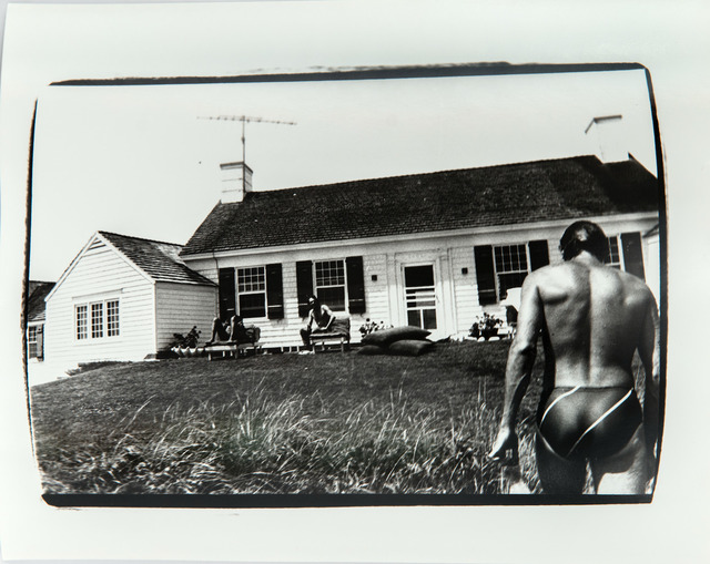 Andy Warhol, 'Photograph of Jon Gould in Montauk', 1981, Hedges Projects