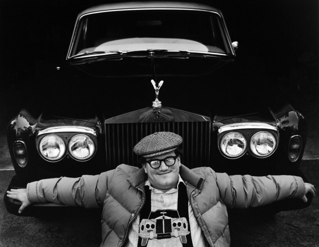 , 'Bill Turnage & his Rolls,' 1977, Modernism Inc.