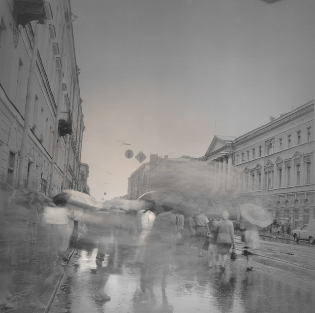 , 'Umbrellas, St. Petersburg,' 1995, Damiani