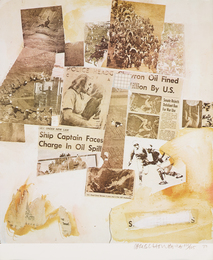 Untitled (Ship Captain Faces Charge in Oil Spill) from the Peace Portfolio I