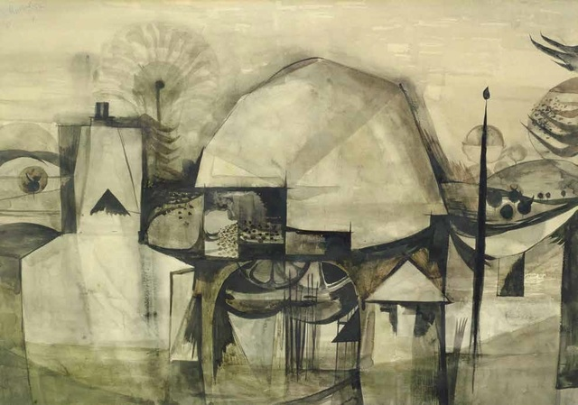 , 'The Well at Cleveley,' 1952, Osborne Samuel
