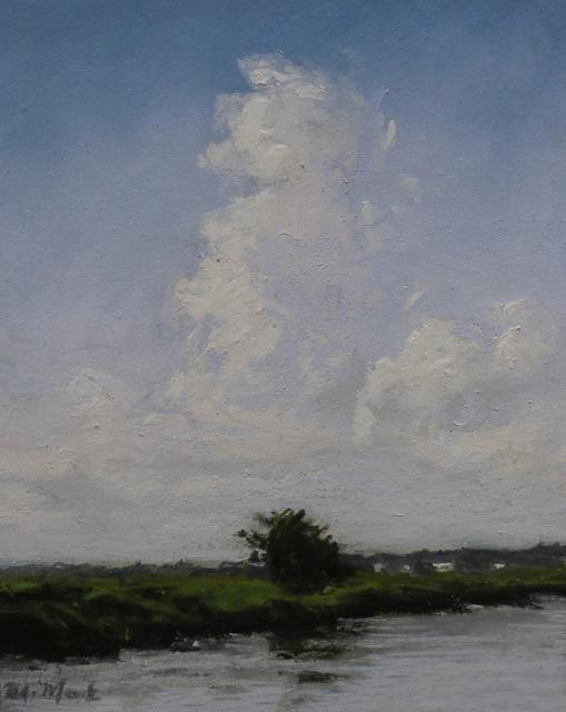 , 'Clouds Building Over Marsh,' , LeMieux Galleries