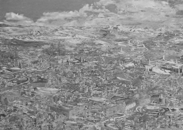 , 'Minarets,' 2017, Kohn Gallery