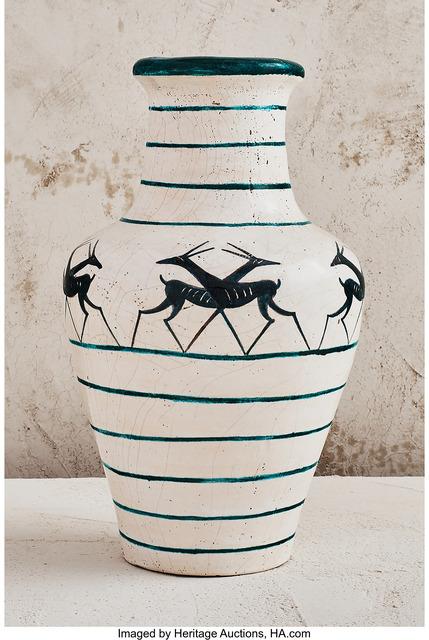 Édouard Cazaux, 'Gazelle Vase', 1928, Heritage Auctions