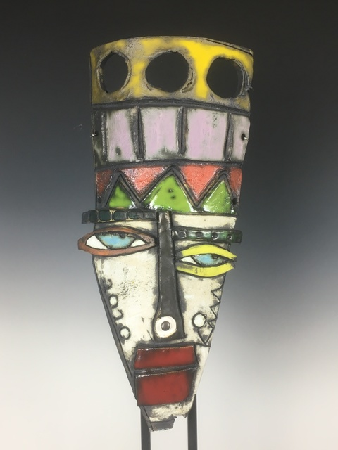 Kimmy Cantrell, 'Clown Show', 2020, Sculpture, Triple Glazed Ceramic, Gugsa Black Arts Collective