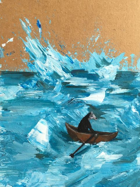 Mike Stilkey, 'Sea Horse', 2017, bG Gallery