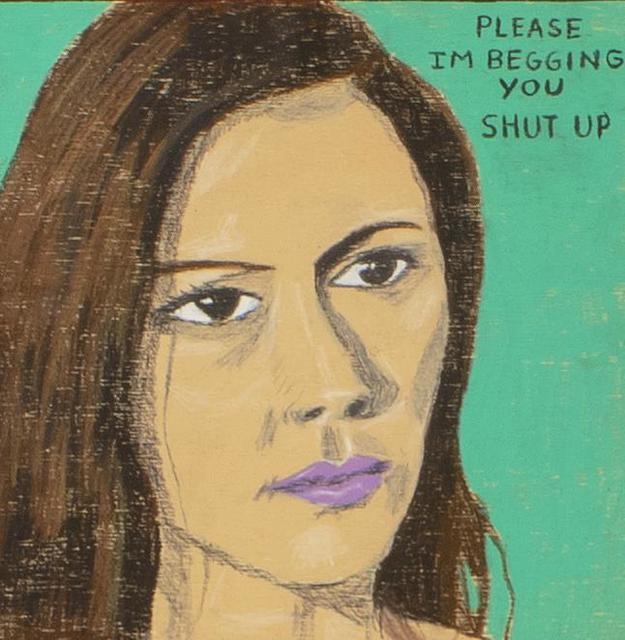 , 'Shut Up,' 2018, Galerie Forsblom
