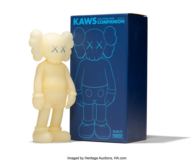 KAWS, 'Five Years Later Companion (Glow in the Dark', 2004, Heritage Auctions