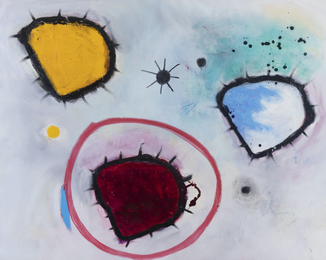 Eric Sanders, 'Amoebic Diversity', 2019, Painting, Acrylic, oil on canvas, Cross Contemporary Partners