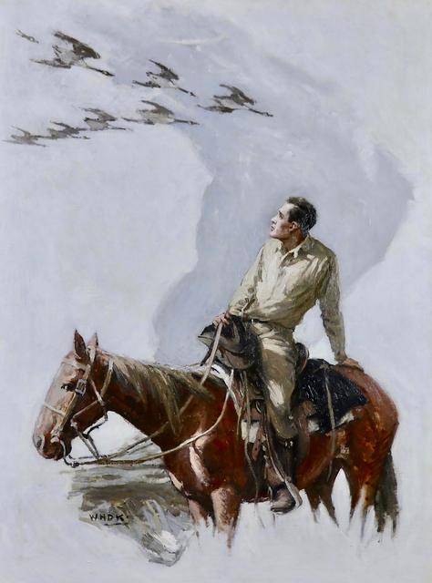 William Henry Dethlef Koerner, 'Wild Geese', 1926, The Illustrated Gallery