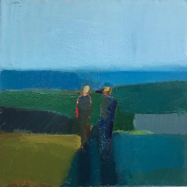, 'Moody Blues,' 2018, Sue Greenwood Fine Art