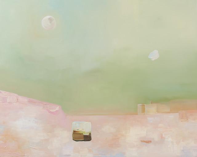 , 'Pink Field,' 2014, Richard Levy Gallery