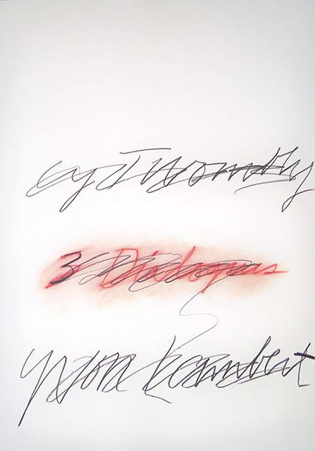 , 'Three Dialogues,' 1977, EHC Fine Art