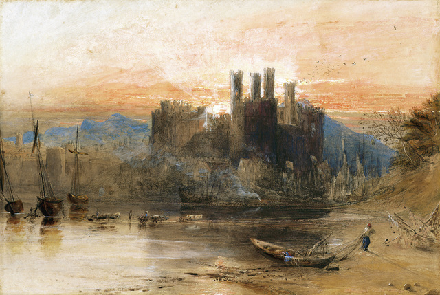 , 'Caernarvon Castle, North Wales,' 1836, Indianapolis Museum of Art at Newfields