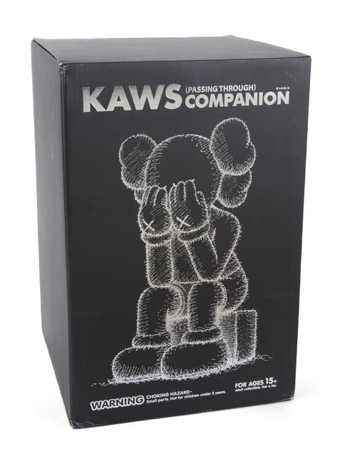 KAWS, 'Passing Through (Black)', 2013, Sculpture, Painted cast vinyl, Julien's Auctions