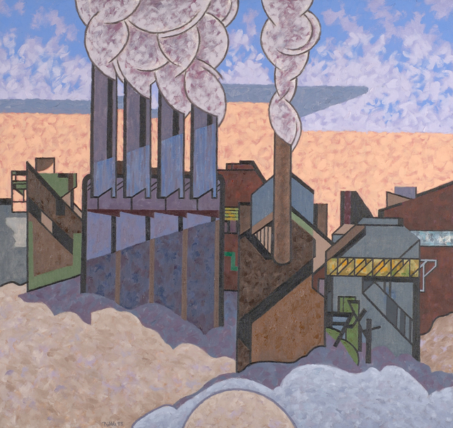 , 'Winter Industrial,' 1988, Caldwell Gallery Hudson