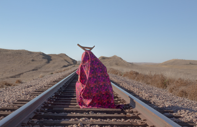 , 'on the tracks of south dakota (the ghost prays for us) ,' 2016, Bridge Productions