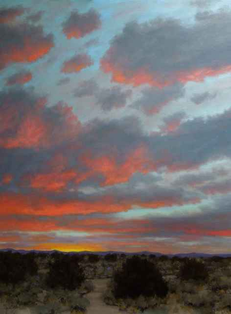 , 'Big Evening Sky,' , Sorrel Sky Gallery