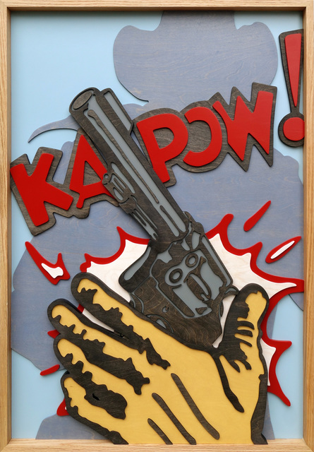 , 'Ka-Pow II,' 2017, MiXX projects + atelier