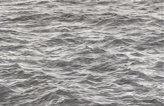 , 'Wasser XXVI, 17.8.2017 - 6:50 bis 29.9.2017 - 11:53 (10654 Minuten gezeichnete Zeit),' 2017, Galerie Commeter / Persiehl & Heine