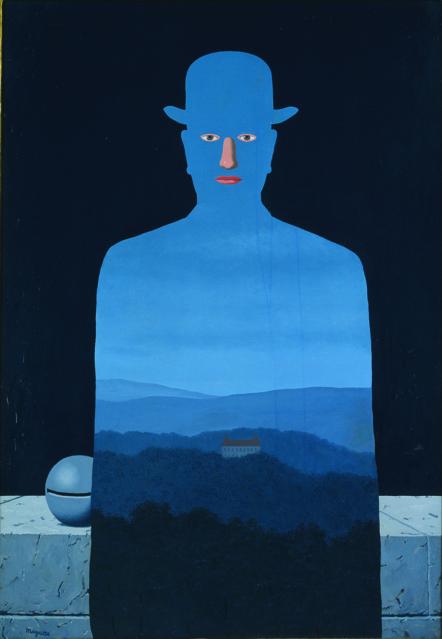 "René MAGRITTE ""The Museum of the King (Le museé du roi)"" 1966 Yokohama Museum of Art"