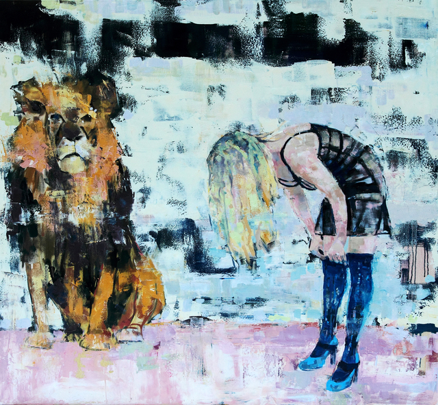 , 'Look Over Once or Twice,' , Sirona Fine Art
