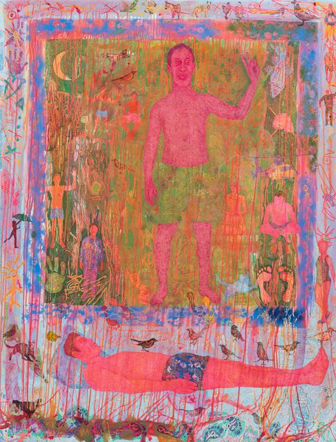 Slimen Elkamel, 'Across the Road', 2018, Painting, Acrylic on canvas, Sulger Buel Gallery
