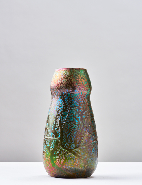 Clément Massier, 'Thorns Vase', 1899, Jason Jacques Gallery